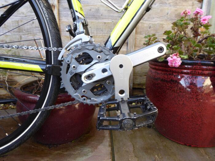 Retroflex RX 3 on bike