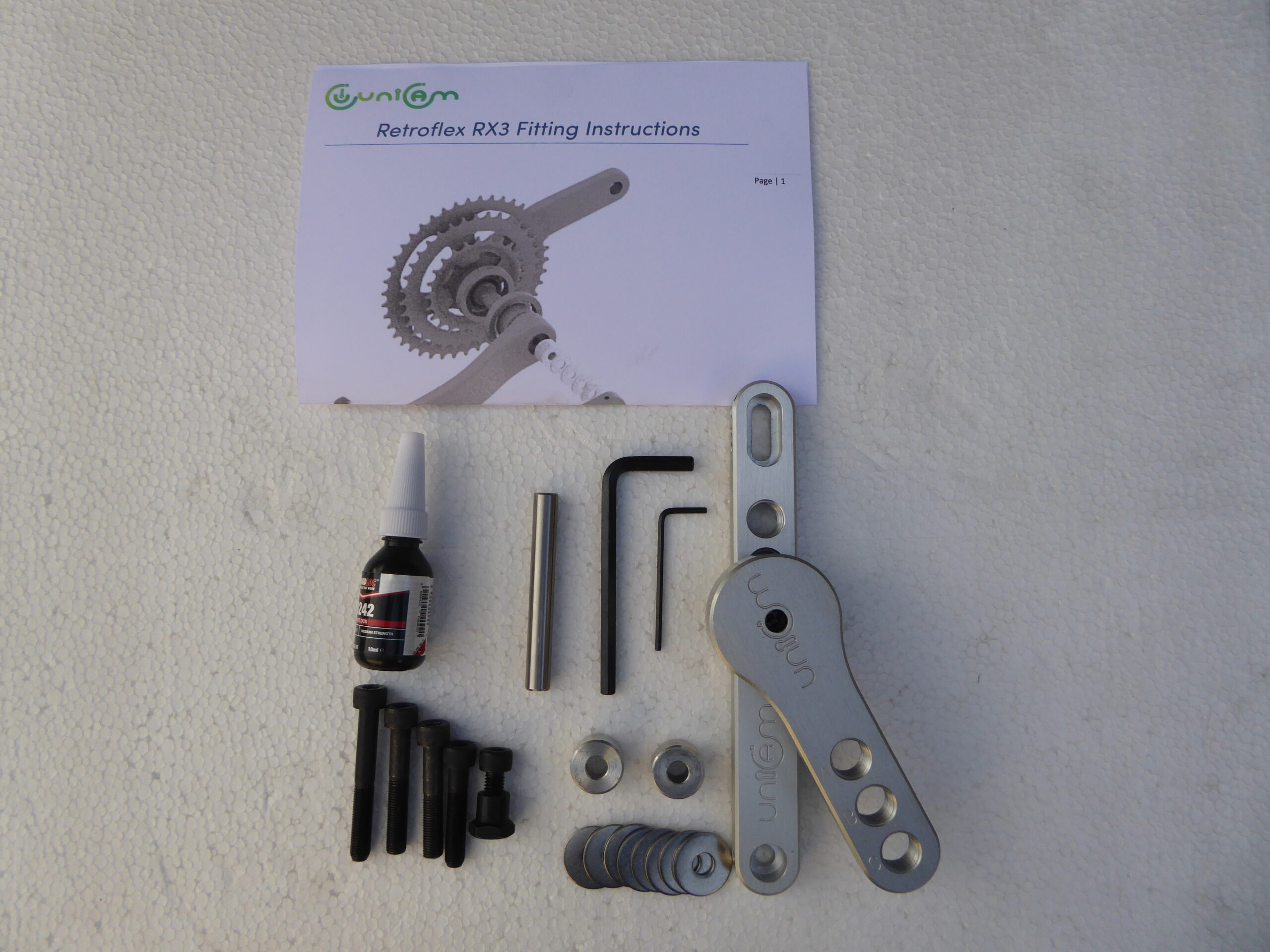 Retroflex RX3 kit and fitting instructions
